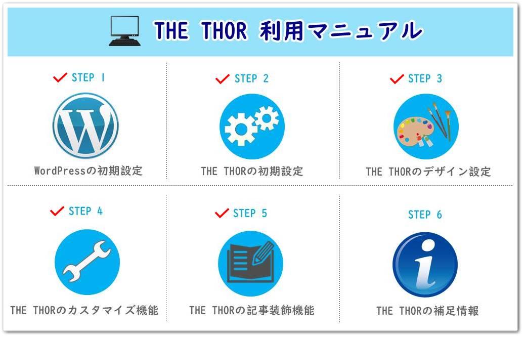 THE THOR(ザ・トール)の記事装飾機能の使い方